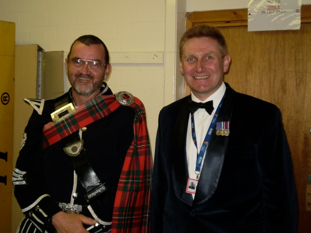 Pipe Major Dan Meehan & Stuart Sampson