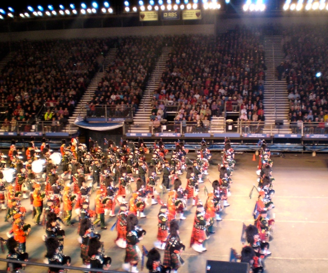 Massed Pipes & Drums