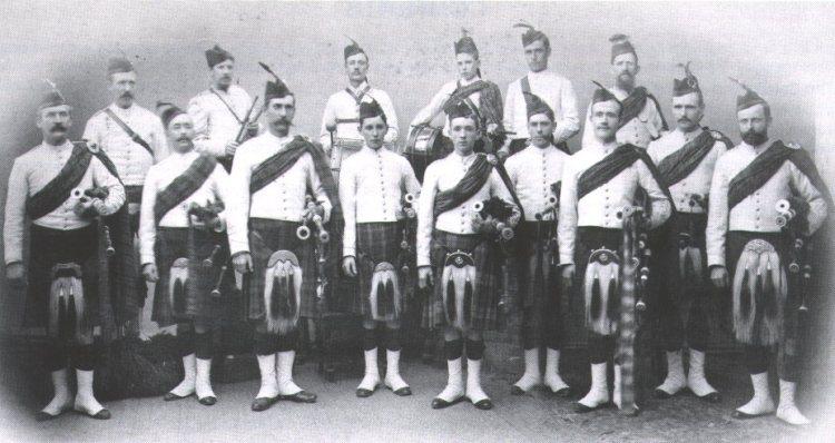 1900 approx Early SA Caledonian Pipe band