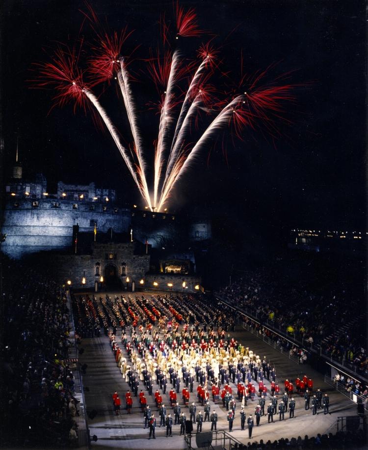 2001 Edinburgh Finale fireworks
