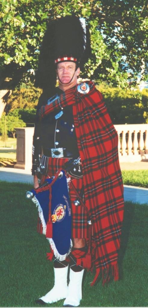2001 Pipe Major Robert McGregor