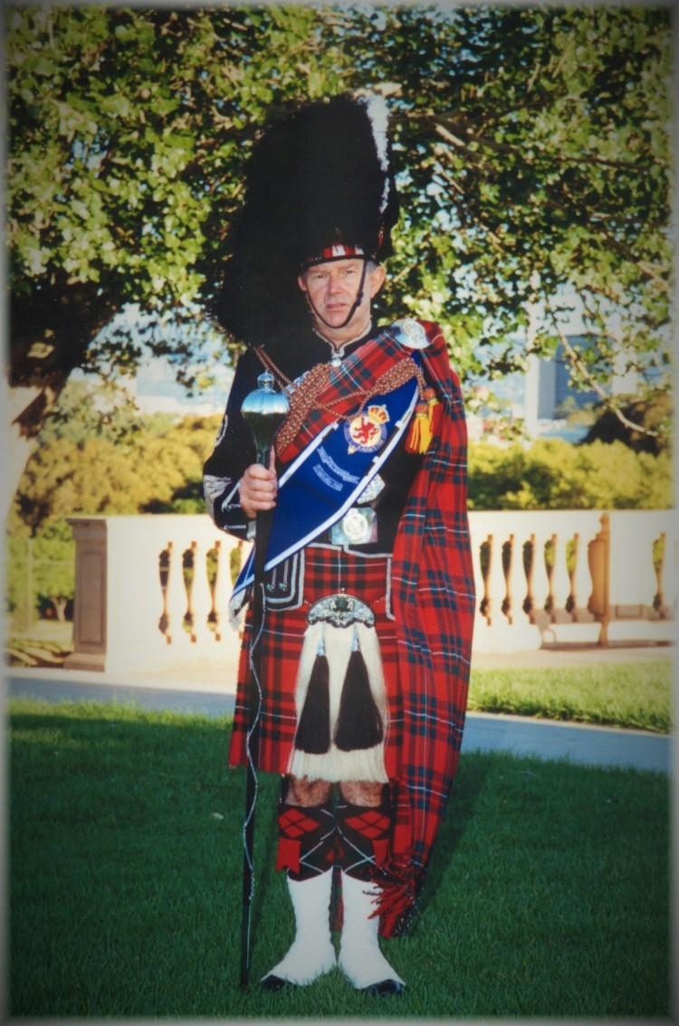 2001Tattoo Drum Major Mashall Hamon