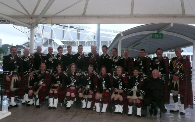 2010 Edinburgh Military Tattoo, Sydney, Australia