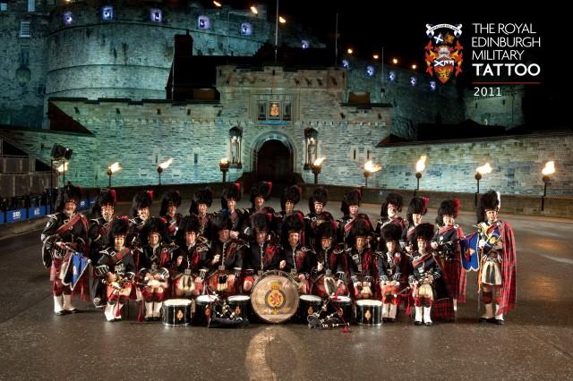 Official photo Royal Edinburgh Military Tattoo 2011