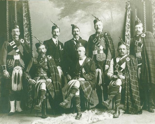 1904-5 SA Pipe Band