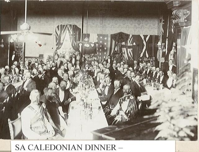 1920' SA Caledonian dinner