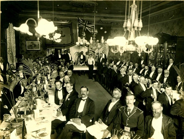 1931 St Andrews Dinner Town Hall Queen Adelaide Room