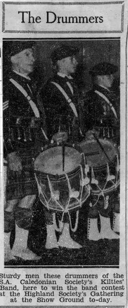 1938 January Sydney drummers