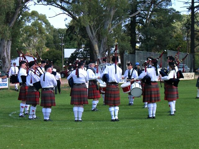 2003 Mt Barker Highland Gathering Competitions