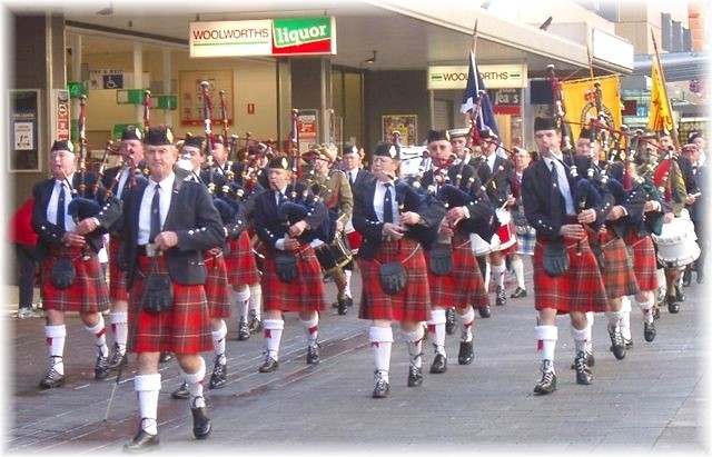 2003 Adelaide tartan day march