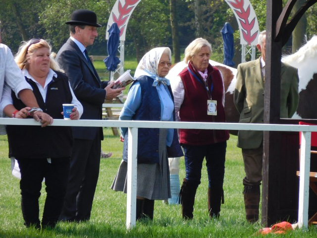 Her Majesty The Queen at The Royal Windsor Horse Show